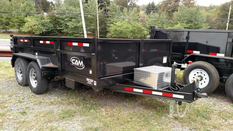 CAM 2020 6' x 12' LOW PROFILE HEAVY DUTY DUMP TRAILER