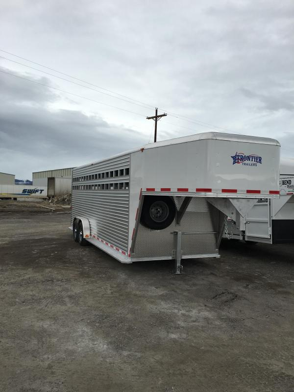 2016 Frontier Trailers 20 ft Stock / Stock Combo Trailer