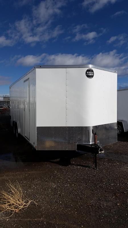 2018 20' Wells Cargo Enclosed Cargo Trailer