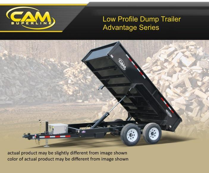 2019 Cam Superline 6 X 10 4 Ton Advantage Low Profile Dump Trailer