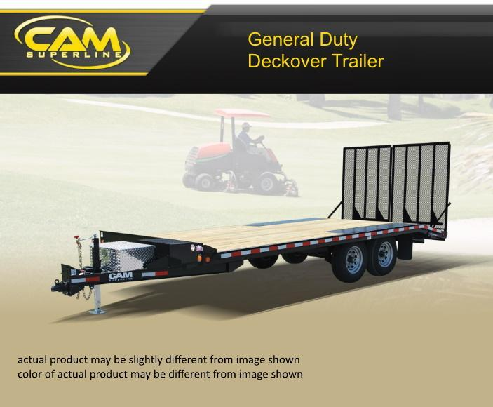 2019 Cam Superline 8 X 20 General Duty Deckover