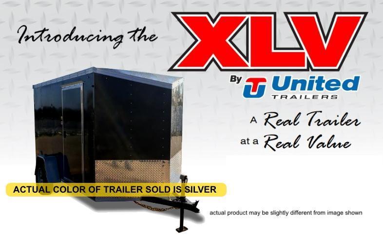 2021 United Trailers 6 X 12 Cargo Trailer XLV