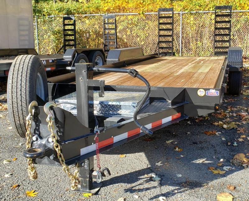 2020 Cam Superline 8.5 X 20 Angle Frame Equipment Hauler
