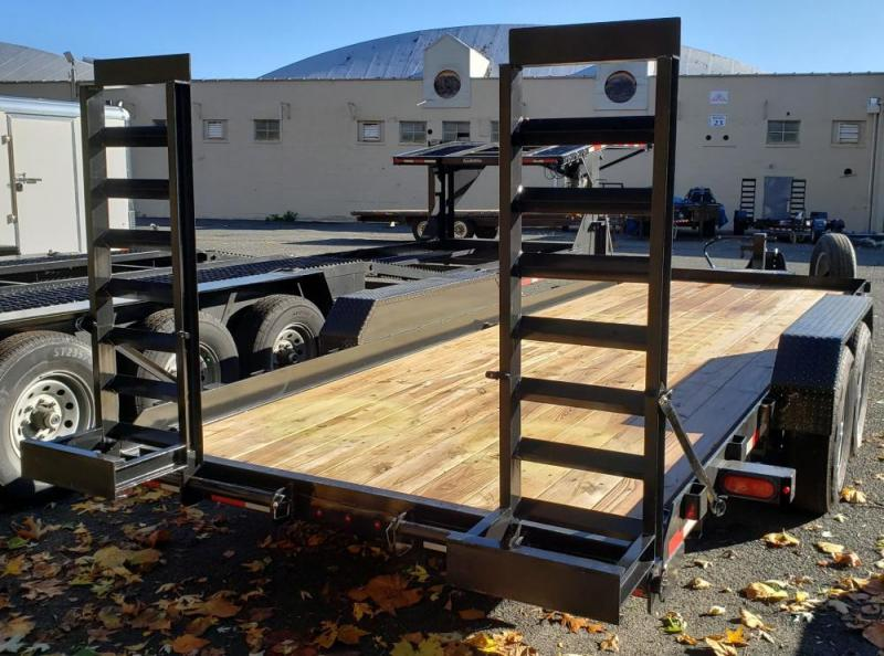 2020 Cam Superline 8.5 X 20 Angle Frame Equipment Hauler
