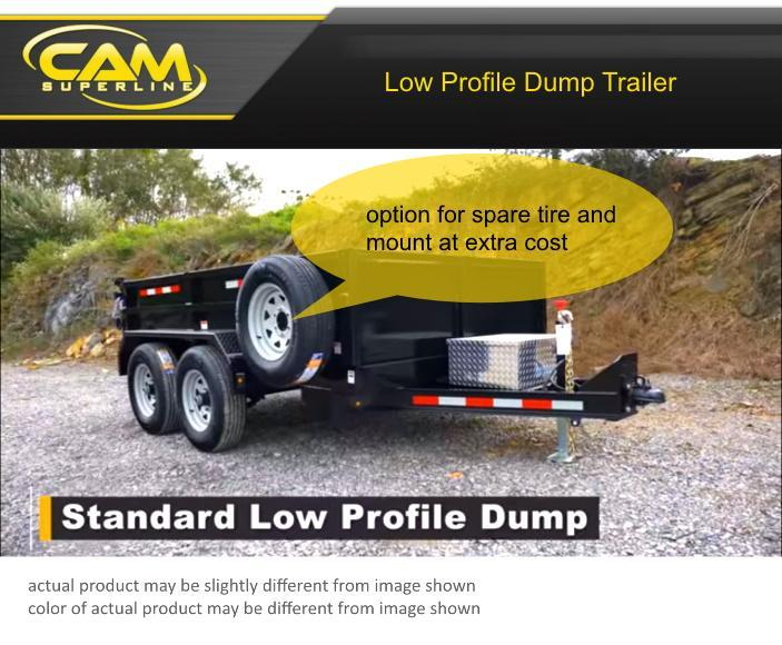 2020 Cam Superline 5CAM610LPD Dump Trailer