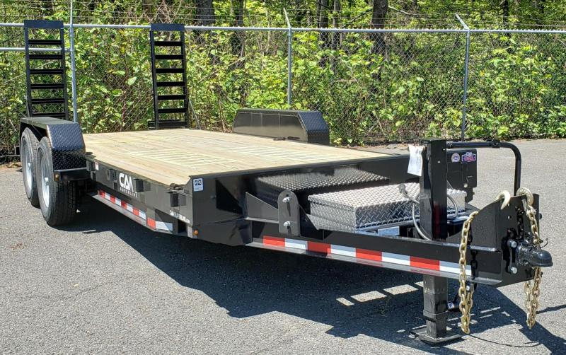 2020 Cam Superline 8.5 X 18 Channel Frame Equipment Hauler