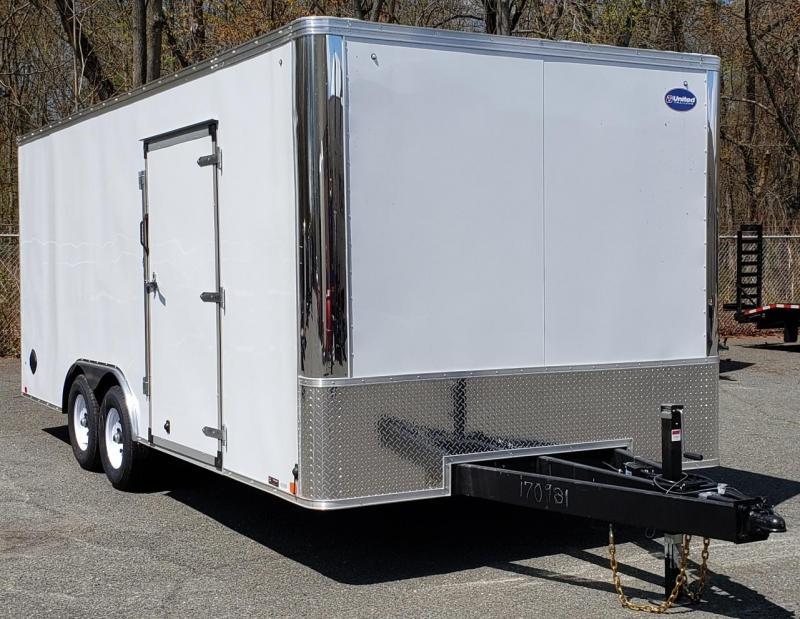 2020 United Trailers 8.5 X 20 Car Hauler XLT