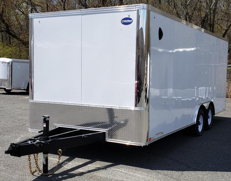 2020 United Trailers 8.5 X 20 Car Hauler XLT