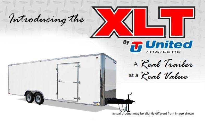 2021 United Trailers 8.5 X 20 Car Hauler XLT