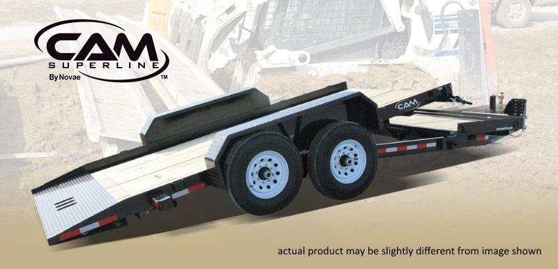 2021 Cam Superline 8.5 X 15+4 Split Deck Tilt Trailer