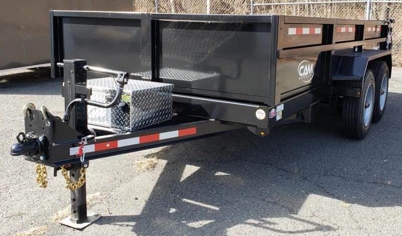 2019 Cam Superline 6 X 14 Low Profile Heavy Duty Dump Trailer