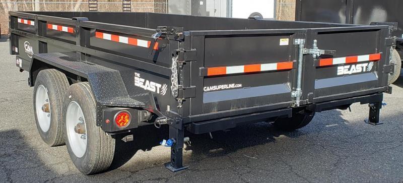 2019 Cam Superline 6 X 14 Low Profile Heavy Duty Dump Trailer