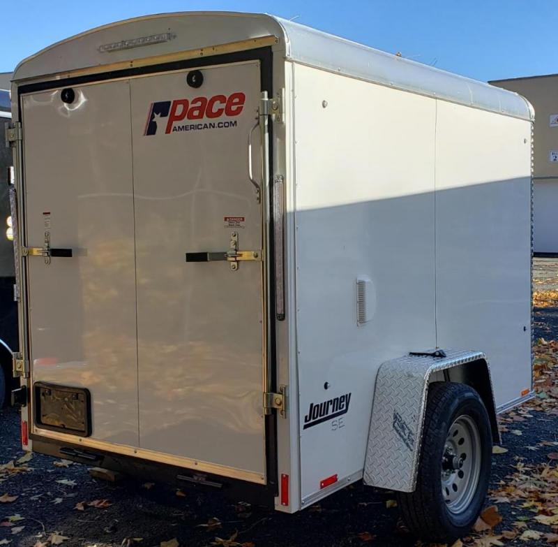 2020 Pace American 5 X 8 Journey Round Top SE Cargo Trailer