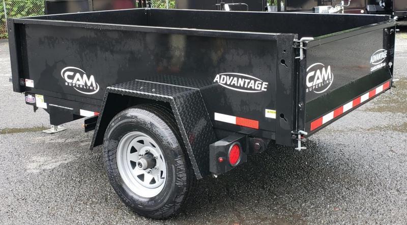 2020 Cam Superline 5 X 8 Low Profile Dump Trailer