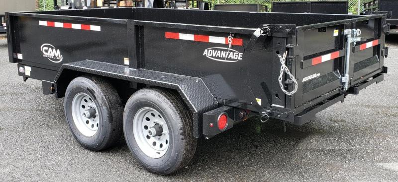 2019 Cam Superline 6 X 12 5 Ton Advantage Low Profile Dump Trailer