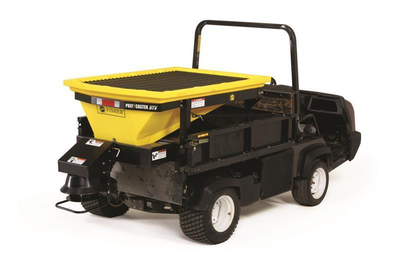 Fisher Poly-Caster UTV Hopper