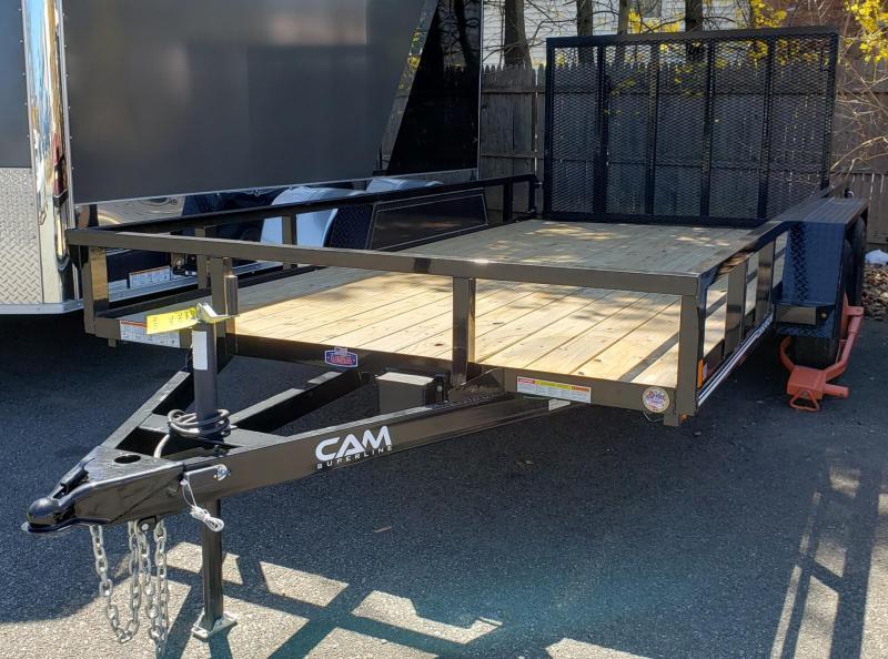 2020 Cam Superline 7 X 14 Utility 7K Tandem