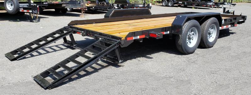 2019 Cam Superline 8.5 X 18 Angle Frame Equipment Hauler