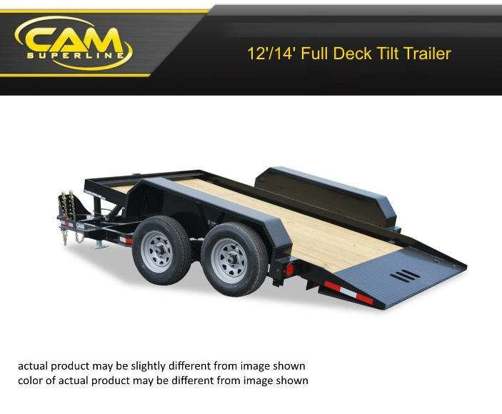 2019 Cam Superline 6 X 12 Full Deck Tilt Trailer