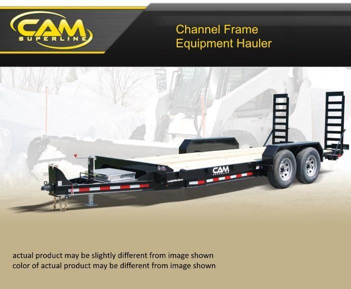 2019 Cam Superline 8.5 X 18 5 Ton Channel Frame Equipment Hauler