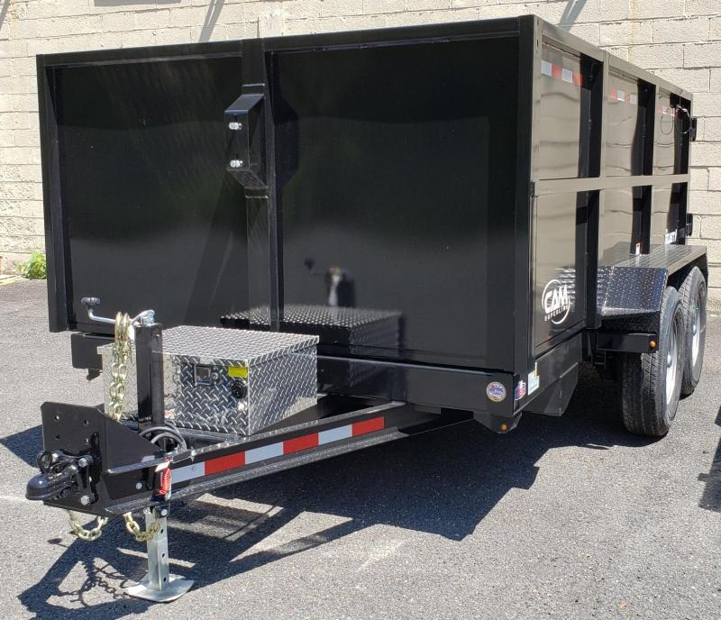 2020 Cam Superline 6 X 12 Heavy Duty Low Profile Dump Trailer