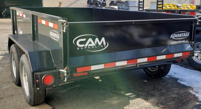 2019 Cam Superline 6 X 10 Advantage Series Low Profile Dump Trailer