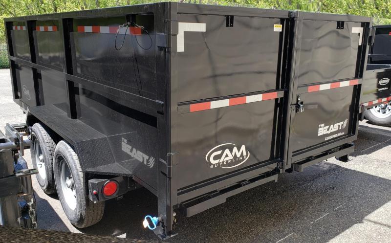 2020 Cam Superline 6 X 14 Heavy Duty Low Profile Dump Trailer