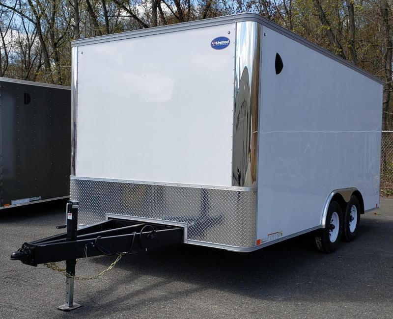 2020 United Trailers 8.5 X 16 Car Hauler XLT