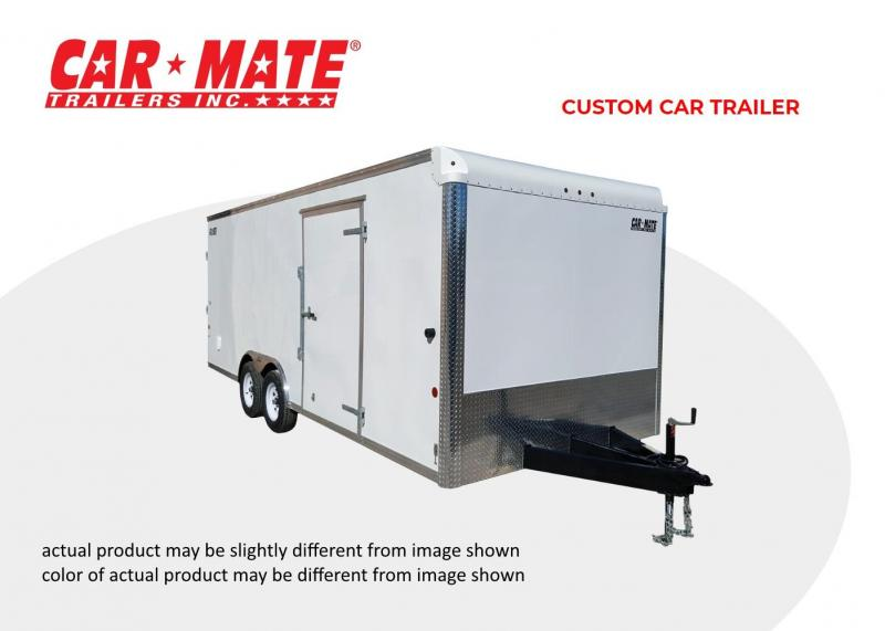2020 Car Mate 8 X 16 Custom Car Trailer