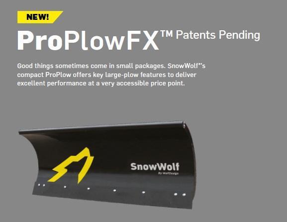 SnowWolf ProPlowFX