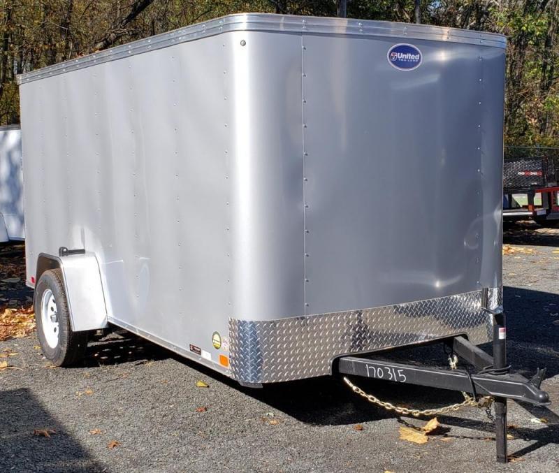 2020 United Trailers 6 X 12 Cargo Trailer XLE