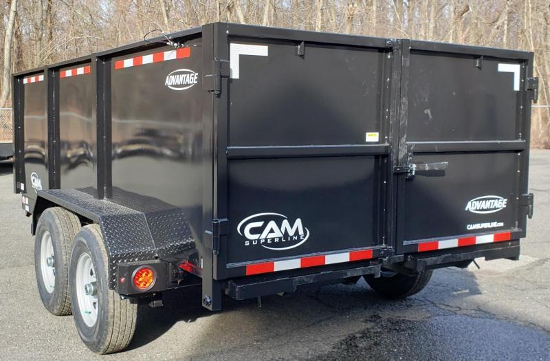 2020 Cam Superline 6.8 X 14 Advantage Series HD Low Profile Dump Trailer