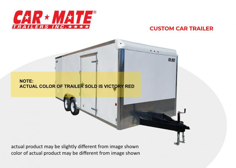 2020 Car Mate 8 X 16 Custom Trailer with landscape package