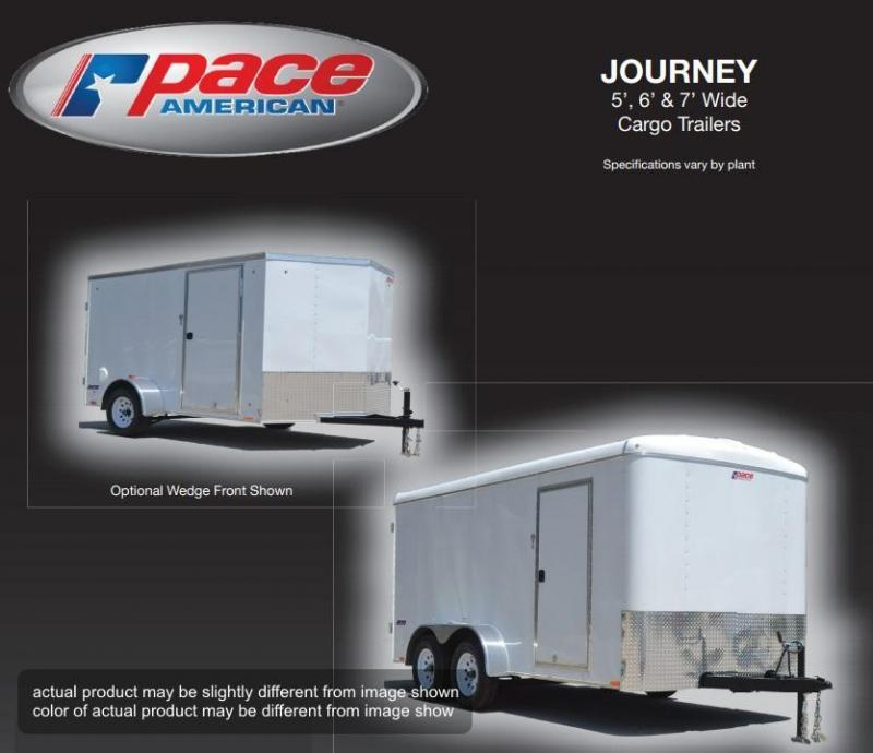 2019 Pace American 6 X 12 JT Round Top 6 Wide SE Single Axle