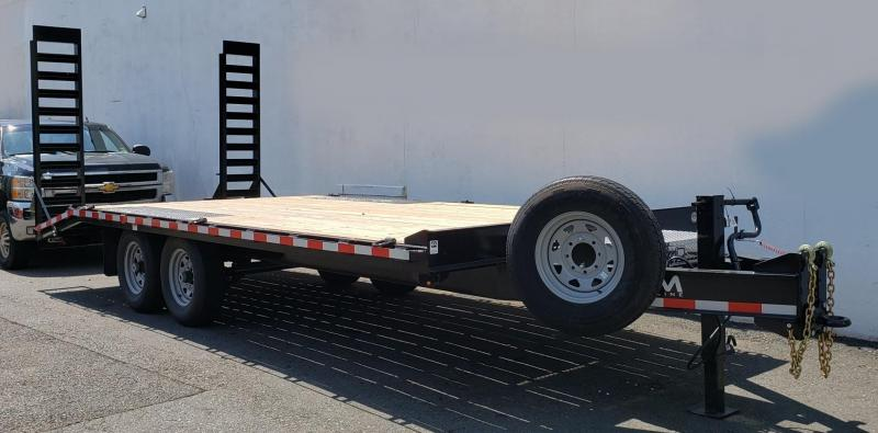 2019 Cam Superline 8.5 X 16 7 Ton Standard Duty Deckover Trailer
