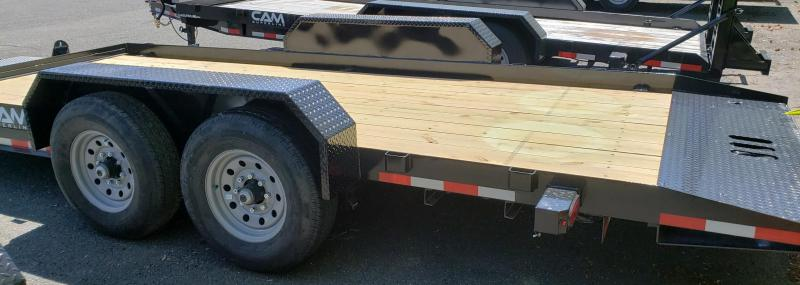 2020 Cam Superline 8.5 X 18 Full Deck Tilt Trailer