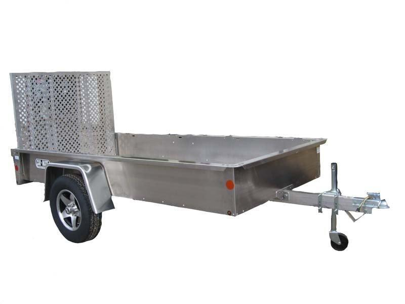 2017 Car Mate Trailers 5 X 10 Open Aluminum Trailer