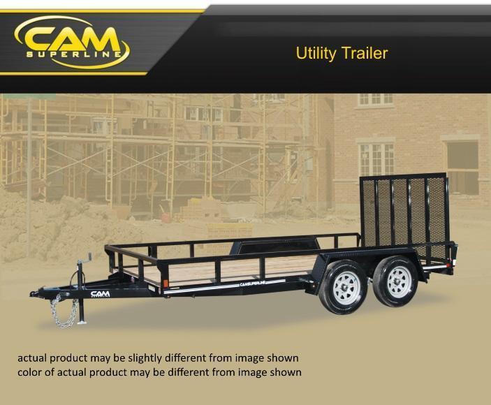2020 Cam Superline 7 X 16 Tube Top CAM Utility 7K Tandem