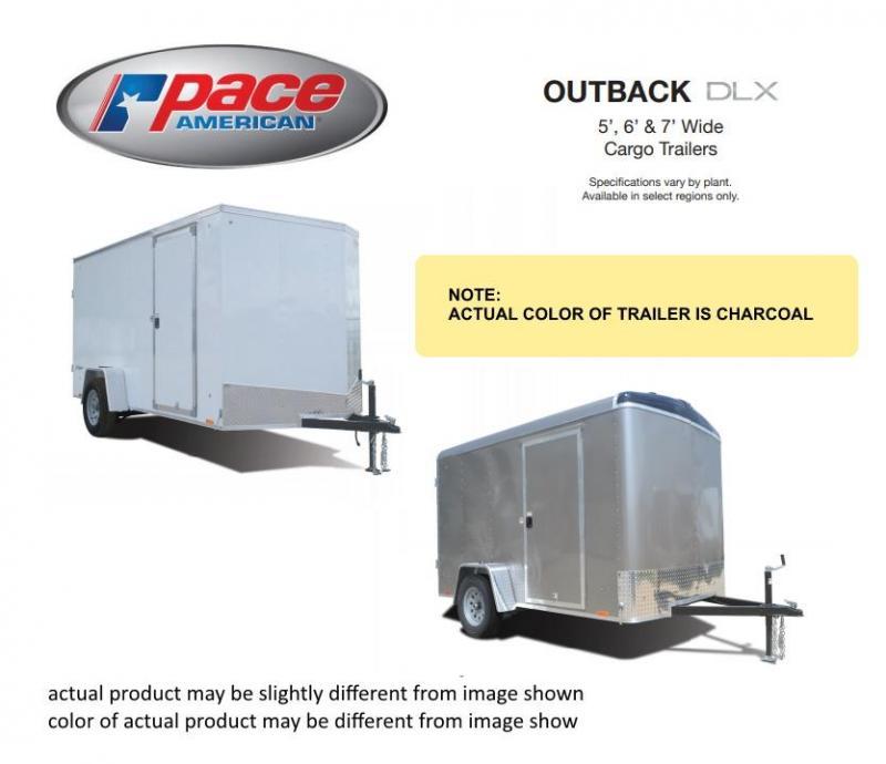 2021 Pace American PSCAB7.0X16TE2FF / OB7X16TTE2DLX Enclosed Cargo Trailer