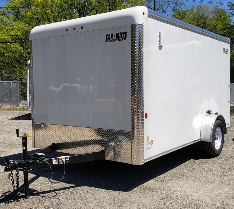 2019 Car Mate Trailers 7 X 12 Custom Cargo Trailer