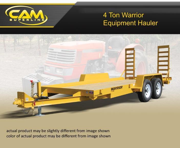 2019 Cam Superline 8.5 X 18 4 Ton Warrior Equipment Hauler