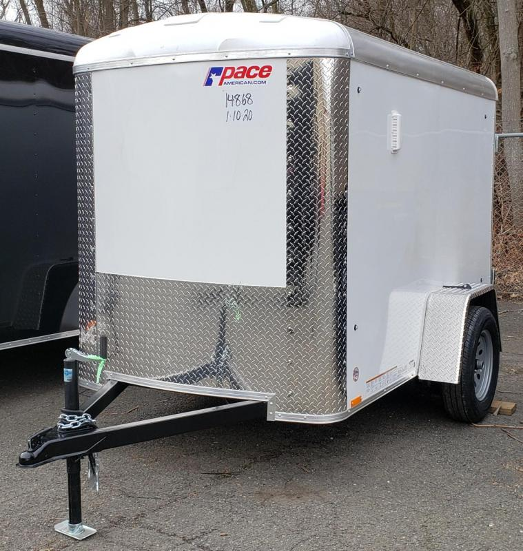 2021 Pace American 5 X 8 Journey Cargo Trailer