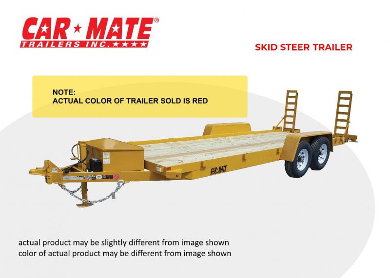 2020 Car Mate 6 X 12 Skid Steer Equipment Trailer