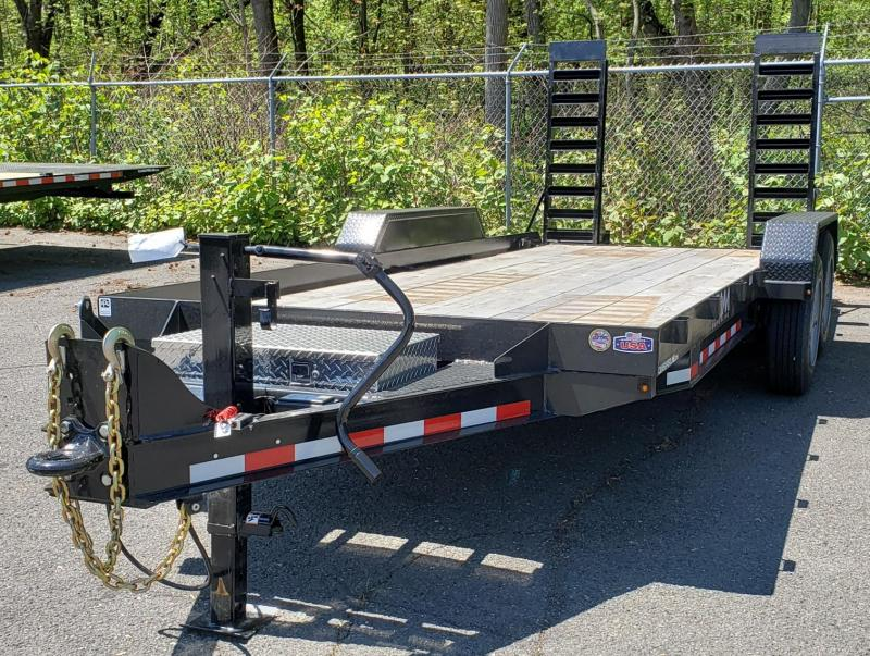 2020 Cam Superline 8.5 X 18 Angle Frame Equipment Hauler