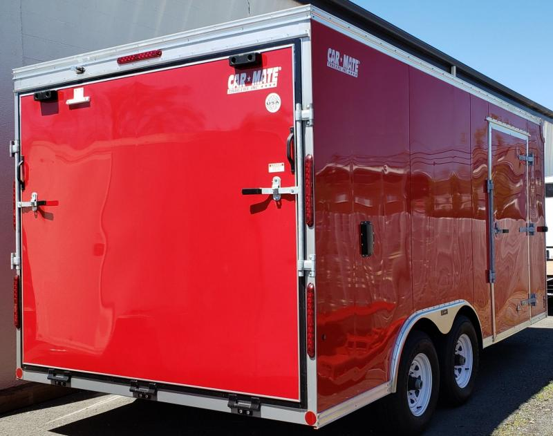 2020 Car Mate Trailers CM816C-CT Enclosed Cargo Trailer