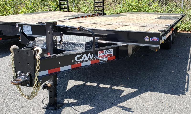 2019 Cam Superline 8 X 24 Deckover Split Tilt Trailer