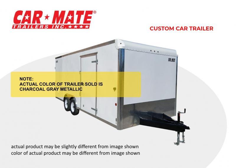 2020 Car Mate 8 X 16 Custom Car Trailer