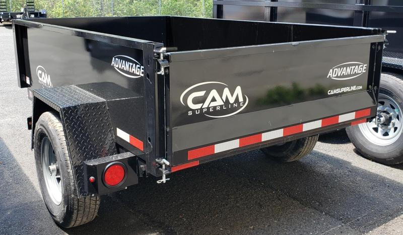 2020 Cam Superline 5 X 8 Advantage Series Low Profile Dump Trailer