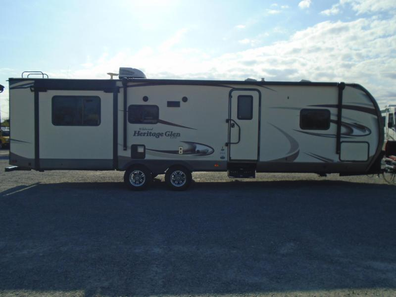 2017 Forest River Wildwood HERITAGE GLEN M-299RE Travel Trailer RV