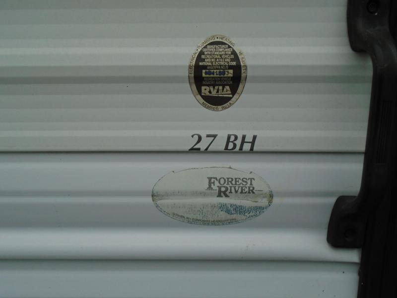 2000 Forest River SALEM27BH Travel Trailer
